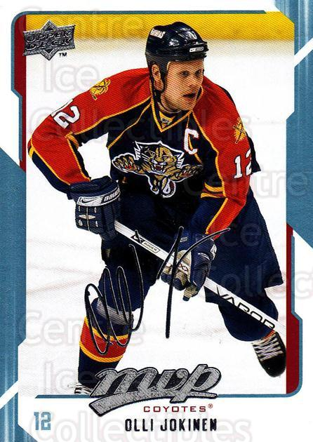 2008-09 Upper Deck MVP #220 Olli Jokinen<br/>6 In Stock - $1.00 each - <a href=https://centericecollectibles.foxycart.com/cart?name=2008-09%20Upper%20Deck%20MVP%20%23220%20Olli%20Jokinen...&quantity_max=6&price=$1.00&code=209036 class=foxycart> Buy it now! </a>