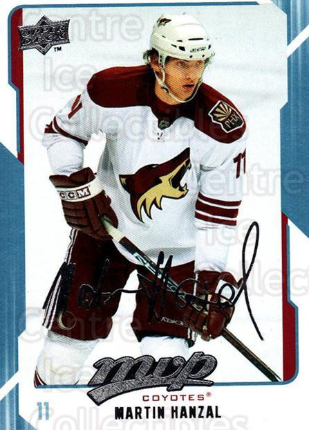 2008-09 Upper Deck MVP #225 Martin Hanzal<br/>6 In Stock - $1.00 each - <a href=https://centericecollectibles.foxycart.com/cart?name=2008-09%20Upper%20Deck%20MVP%20%23225%20Martin%20Hanzal...&quantity_max=6&price=$1.00&code=209041 class=foxycart> Buy it now! </a>