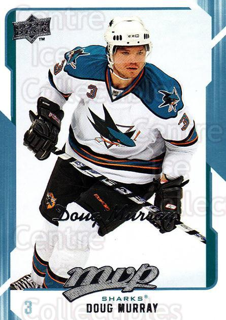 2008-09 Upper Deck MVP #240 Doug Murray<br/>6 In Stock - $1.00 each - <a href=https://centericecollectibles.foxycart.com/cart?name=2008-09%20Upper%20Deck%20MVP%20%23240%20Doug%20Murray...&quantity_max=6&price=$1.00&code=209056 class=foxycart> Buy it now! </a>