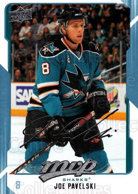 2008-09 Upper Deck MVP #244 Joe Pavelski<br/>6 In Stock - $1.00 each - <a href=https://centericecollectibles.foxycart.com/cart?name=2008-09%20Upper%20Deck%20MVP%20%23244%20Joe%20Pavelski...&quantity_max=6&price=$1.00&code=209060 class=foxycart> Buy it now! </a>