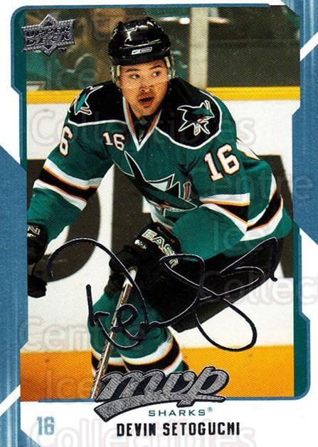 2008-09 Upper Deck MVP #248 Devin Setoguchi<br/>4 In Stock - $1.00 each - <a href=https://centericecollectibles.foxycart.com/cart?name=2008-09%20Upper%20Deck%20MVP%20%23248%20Devin%20Setoguchi...&quantity_max=4&price=$1.00&code=209064 class=foxycart> Buy it now! </a>