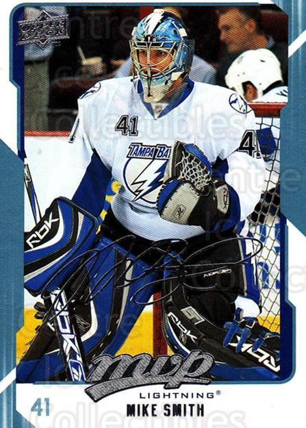 2008-09 Upper Deck MVP #264 Mike Smith<br/>3 In Stock - $1.00 each - <a href=https://centericecollectibles.foxycart.com/cart?name=2008-09%20Upper%20Deck%20MVP%20%23264%20Mike%20Smith...&quantity_max=3&price=$1.00&code=209080 class=foxycart> Buy it now! </a>
