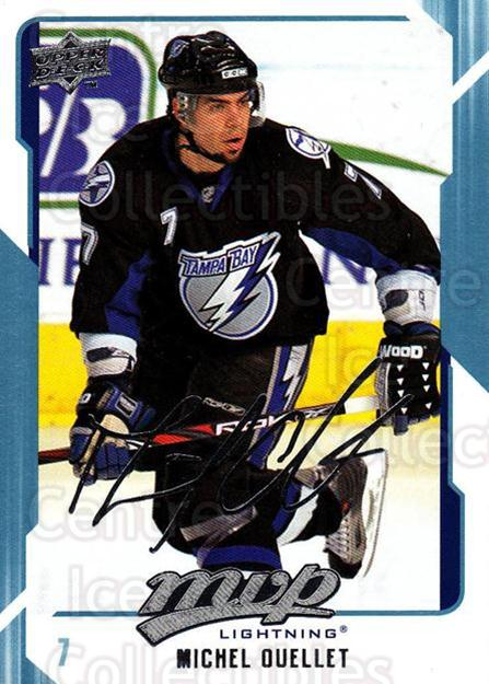 2008-09 Upper Deck MVP #265 Michel Ouellet<br/>6 In Stock - $1.00 each - <a href=https://centericecollectibles.foxycart.com/cart?name=2008-09%20Upper%20Deck%20MVP%20%23265%20Michel%20Ouellet...&quantity_max=6&price=$1.00&code=209081 class=foxycart> Buy it now! </a>