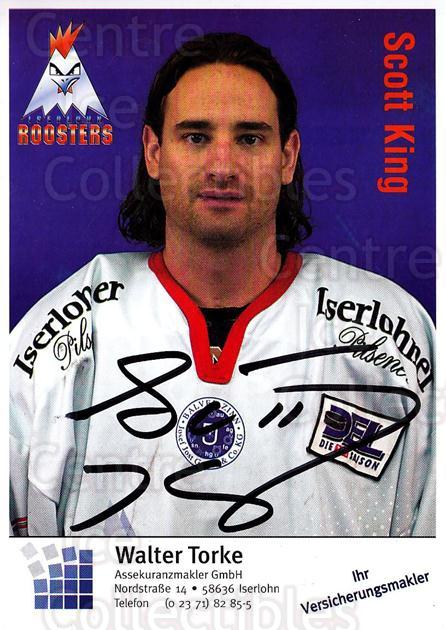 2003-04 German Iserlohn Roosters Postcards #15 Scott King<br/>2 In Stock - $3.00 each - <a href=https://centericecollectibles.foxycart.com/cart?name=2003-04%20German%20Iserlohn%20Roosters%20Postcards%20%2315%20Scott%20King...&quantity_max=2&price=$3.00&code=209431 class=foxycart> Buy it now! </a>