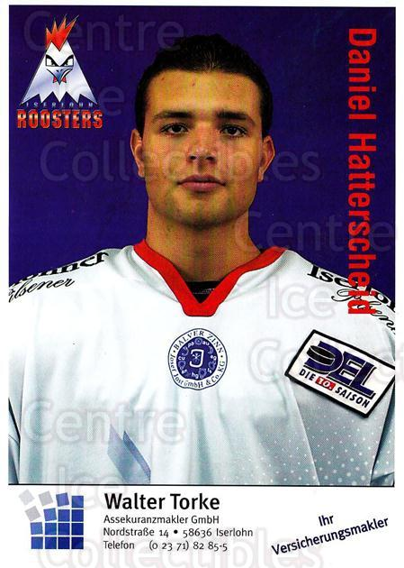 2003-04 German Iserlohn Roosters Postcards #12 Daniel Hatterscheid<br/>1 In Stock - $3.00 each - <a href=https://centericecollectibles.foxycart.com/cart?name=2003-04%20German%20Iserlohn%20Roosters%20Postcards%20%2312%20Daniel%20Hattersc...&quantity_max=1&price=$3.00&code=209434 class=foxycart> Buy it now! </a>