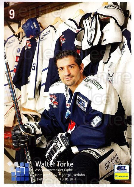 2004-05 German Iserlohn Roosters Postcards #1 Ralph Intranuovo<br/>1 In Stock - $3.00 each - <a href=https://centericecollectibles.foxycart.com/cart?name=2004-05%20German%20Iserlohn%20Roosters%20Postcards%20%231%20Ralph%20Intranuov...&quantity_max=1&price=$3.00&code=209439 class=foxycart> Buy it now! </a>