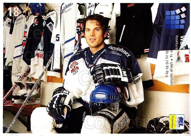 2004-05 German Iserlohn Roosters Postcards #14 Matt Higgins<br/>2 In Stock - $3.00 each - <a href=https://centericecollectibles.foxycart.com/cart?name=2004-05%20German%20Iserlohn%20Roosters%20Postcards%20%2314%20Matt%20Higgins...&quantity_max=2&price=$3.00&code=209452 class=foxycart> Buy it now! </a>