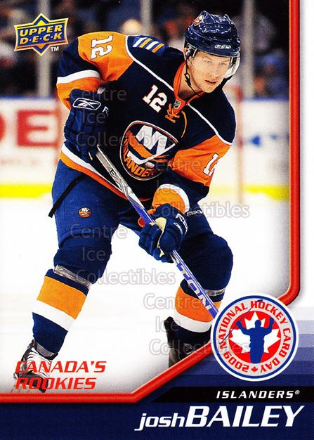 2009 Upper Deck National Hockey Card Day #3 Josh Bailey<br/>52 In Stock - $2.00 each - <a href=https://centericecollectibles.foxycart.com/cart?name=2009%20Upper%20Deck%20National%20Hockey%20Card%20Day%20%233%20Josh%20Bailey...&quantity_max=52&price=$2.00&code=209814 class=foxycart> Buy it now! </a>