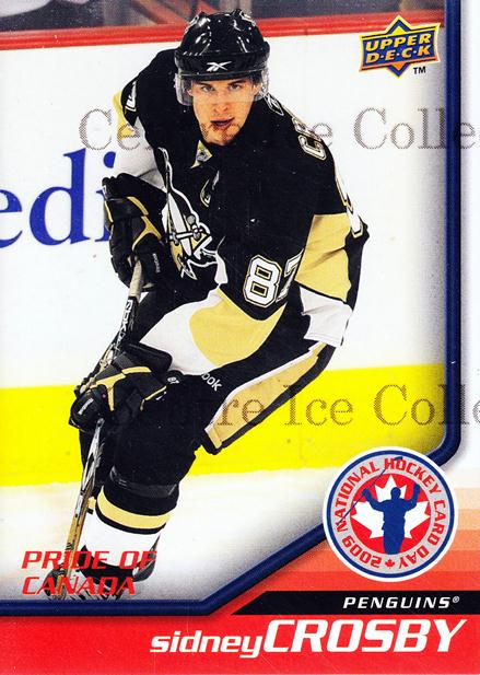2009 Upper Deck National Hockey Card Day #6 Sidney Crosby<br/>52 In Stock - $3.00 each - <a href=https://centericecollectibles.foxycart.com/cart?name=2009%20Upper%20Deck%20National%20Hockey%20Card%20Day%20%236%20Sidney%20Crosby...&quantity_max=52&price=$3.00&code=209817 class=foxycart> Buy it now! </a>