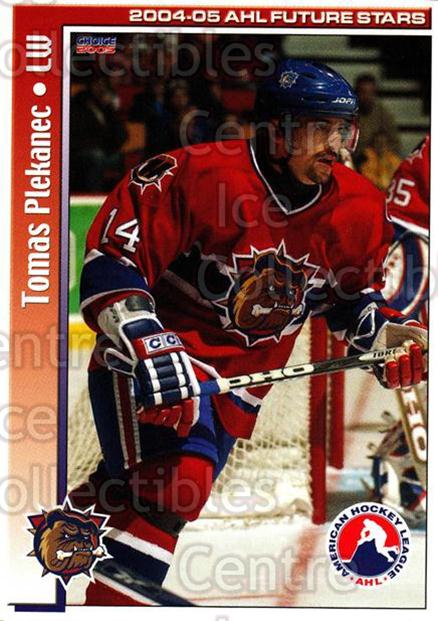 2004-05 AHL Future Stars #16 Tomas Plekanec<br/>3 In Stock - $3.00 each - <a href=https://centericecollectibles.foxycart.com/cart?name=2004-05%20AHL%20Future%20Stars%20%2316%20Tomas%20Plekanec...&quantity_max=3&price=$3.00&code=209893 class=foxycart> Buy it now! </a>