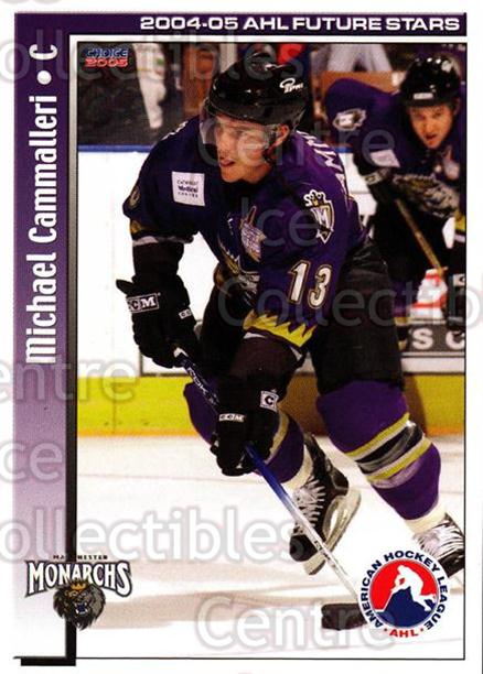 2004-05 AHL Future Stars #28 Mike Cammalleri<br/>6 In Stock - $3.00 each - <a href=https://centericecollectibles.foxycart.com/cart?name=2004-05%20AHL%20Future%20Stars%20%2328%20Mike%20Cammalleri...&quantity_max=6&price=$3.00&code=209905 class=foxycart> Buy it now! </a>