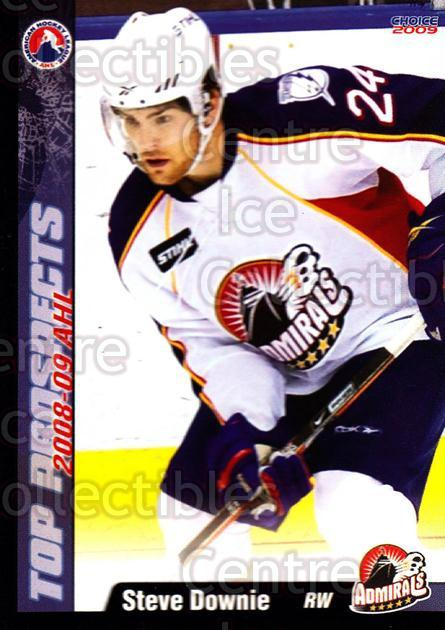 2008-09 AHL Top Prospects #26 Steve Downie<br/>6 In Stock - $3.00 each - <a href=https://centericecollectibles.foxycart.com/cart?name=2008-09%20AHL%20Top%20Prospects%20%2326%20Steve%20Downie...&price=$3.00&code=209964 class=foxycart> Buy it now! </a>