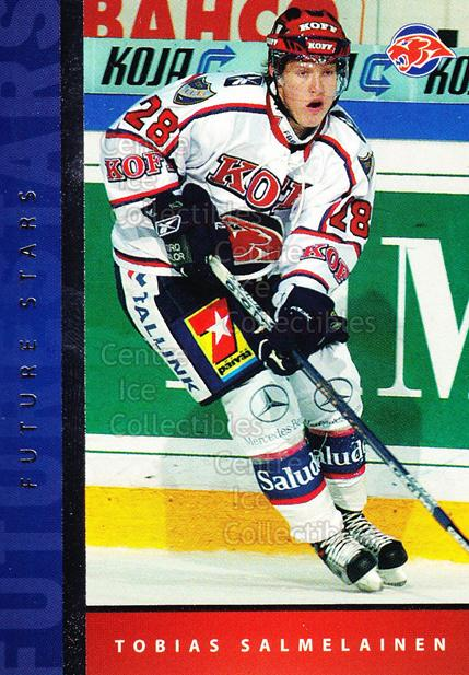 2005-06 Finnish Cardset Future Stars #2 Tobias Salmelainen<br/>4 In Stock - $3.00 each - <a href=https://centericecollectibles.foxycart.com/cart?name=2005-06%20Finnish%20Cardset%20Future%20Stars%20%232%20Tobias%20Salmelai...&quantity_max=4&price=$3.00&code=210159 class=foxycart> Buy it now! </a>