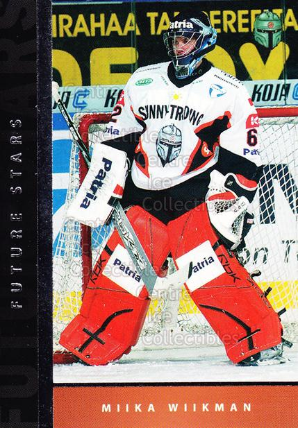 2005-06 Finnish Cardset Future Stars #4 Miika Wiikman<br/>1 In Stock - $3.00 each - <a href=https://centericecollectibles.foxycart.com/cart?name=2005-06%20Finnish%20Cardset%20Future%20Stars%20%234%20Miika%20Wiikman...&quantity_max=1&price=$3.00&code=210161 class=foxycart> Buy it now! </a>
