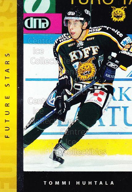 2005-06 Finnish Cardset Future Stars #7 Tommi Huhtala<br/>1 In Stock - $3.00 each - <a href=https://centericecollectibles.foxycart.com/cart?name=2005-06%20Finnish%20Cardset%20Future%20Stars%20%237%20Tommi%20Huhtala...&quantity_max=1&price=$3.00&code=210164 class=foxycart> Buy it now! </a>