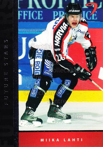 2005-06 Finnish Cardset Future Stars #12 Miika Lahti<br/>4 In Stock - $3.00 each - <a href=https://centericecollectibles.foxycart.com/cart?name=2005-06%20Finnish%20Cardset%20Future%20Stars%20%2312%20Miika%20Lahti...&quantity_max=4&price=$3.00&code=210169 class=foxycart> Buy it now! </a>
