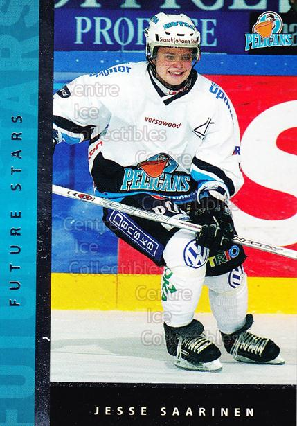 2005-06 Finnish Cardset Future Stars #21 Jesse Saarinen<br/>4 In Stock - $3.00 each - <a href=https://centericecollectibles.foxycart.com/cart?name=2005-06%20Finnish%20Cardset%20Future%20Stars%20%2321%20Jesse%20Saarinen...&quantity_max=4&price=$3.00&code=210178 class=foxycart> Buy it now! </a>