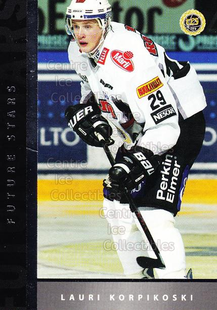 2005-06 Finnish Cardset Future Stars #27 Lauri Korpikoski<br/>4 In Stock - $3.00 each - <a href=https://centericecollectibles.foxycart.com/cart?name=2005-06%20Finnish%20Cardset%20Future%20Stars%20%2327%20Lauri%20Korpikosk...&quantity_max=4&price=$3.00&code=210184 class=foxycart> Buy it now! </a>