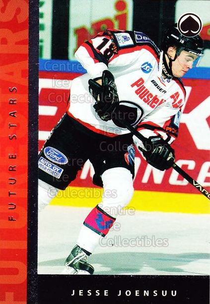 2005-06 Finnish Cardset Future Stars #29 Jesse Joensuu<br/>4 In Stock - $3.00 each - <a href=https://centericecollectibles.foxycart.com/cart?name=2005-06%20Finnish%20Cardset%20Future%20Stars%20%2329%20Jesse%20Joensuu...&quantity_max=4&price=$3.00&code=210186 class=foxycart> Buy it now! </a>