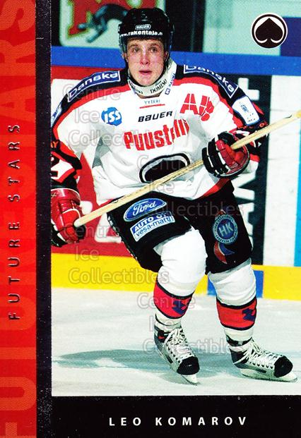 2005-06 Finnish Cardset Future Stars #30 Leo Komarov<br/>2 In Stock - $3.00 each - <a href=https://centericecollectibles.foxycart.com/cart?name=2005-06%20Finnish%20Cardset%20Future%20Stars%20%2330%20Leo%20Komarov...&quantity_max=2&price=$3.00&code=210187 class=foxycart> Buy it now! </a>