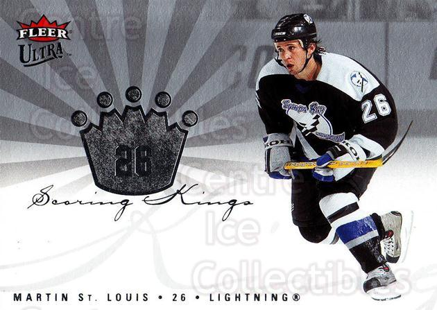 2005-06 Ultra Scoring Kings #2 Martin St. Louis<br/>7 In Stock - $2.00 each - <a href=https://centericecollectibles.foxycart.com/cart?name=2005-06%20Ultra%20Scoring%20Kings%20%232%20Martin%20St.%20Loui...&quantity_max=7&price=$2.00&code=210381 class=foxycart> Buy it now! </a>