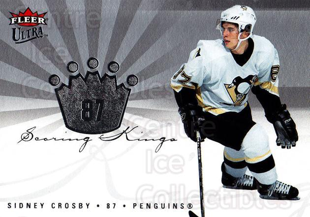 2005-06 Ultra Scoring Kings #11 Sidney Crosby<br/>1 In Stock - $5.00 each - <a href=https://centericecollectibles.foxycart.com/cart?name=2005-06%20Ultra%20Scoring%20Kings%20%2311%20Sidney%20Crosby...&price=$5.00&code=210387 class=foxycart> Buy it now! </a>
