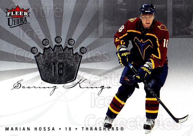 2005-06 Ultra Scoring Kings #23 Marian Hossa<br/>2 In Stock - $2.00 each - <a href=https://centericecollectibles.foxycart.com/cart?name=2005-06%20Ultra%20Scoring%20Kings%20%2323%20Marian%20Hossa...&quantity_max=2&price=$2.00&code=210391 class=foxycart> Buy it now! </a>