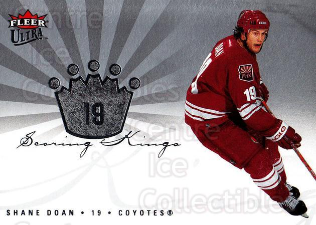 2005-06 Ultra Scoring Kings #26 Shane Doan<br/>3 In Stock - $2.00 each - <a href=https://centericecollectibles.foxycart.com/cart?name=2005-06%20Ultra%20Scoring%20Kings%20%2326%20Shane%20Doan...&quantity_max=3&price=$2.00&code=210394 class=foxycart> Buy it now! </a>