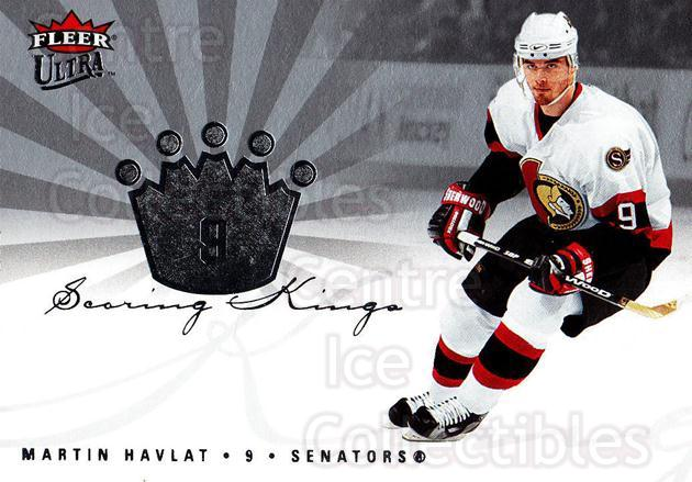 2005-06 Ultra Scoring Kings #28 Martin Havlat<br/>4 In Stock - $2.00 each - <a href=https://centericecollectibles.foxycart.com/cart?name=2005-06%20Ultra%20Scoring%20Kings%20%2328%20Martin%20Havlat...&quantity_max=4&price=$2.00&code=210396 class=foxycart> Buy it now! </a>