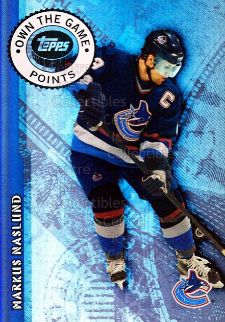 2003-04 Topps Own The Game #2 Markus Naslund<br/>13 In Stock - $2.00 each - <a href=https://centericecollectibles.foxycart.com/cart?name=2003-04%20Topps%20Own%20The%20Game%20%232%20Markus%20Naslund...&quantity_max=13&price=$2.00&code=210411 class=foxycart> Buy it now! </a>