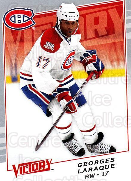 2008-09 UD Victory #276 Georges Laraque<br/>1 In Stock - $1.00 each - <a href=https://centericecollectibles.foxycart.com/cart?name=2008-09%20UD%20Victory%20%23276%20Georges%20Laraque...&quantity_max=1&price=$1.00&code=210457 class=foxycart> Buy it now! </a>