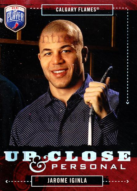 2006-07 Be a Player Up Close and Personal #21 Jarome Iginla<br/>2 In Stock - $3.00 each - <a href=https://centericecollectibles.foxycart.com/cart?name=2006-07%20Be%20a%20Player%20Up%20Close%20and%20Personal%20%2321%20Jarome%20Iginla...&quantity_max=2&price=$3.00&code=210502 class=foxycart> Buy it now! </a>