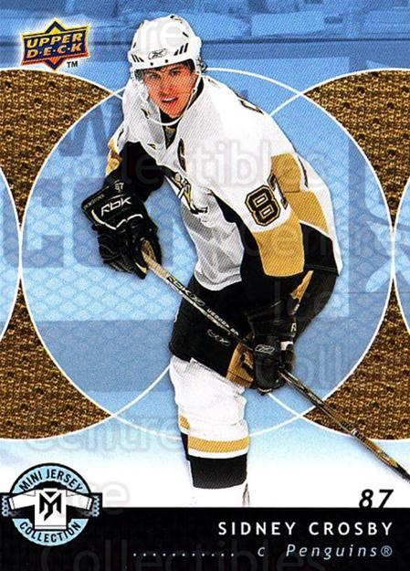 2007-08 UD Mini Jersey Collection #76 Sidney Crosby<br/>1 In Stock - $3.00 each - <a href=https://centericecollectibles.foxycart.com/cart?name=2007-08%20UD%20Mini%20Jersey%20Collection%20%2376%20Sidney%20Crosby...&price=$3.00&code=210542 class=foxycart> Buy it now! </a>