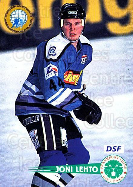 1996-97 German DEL #66 Joni Lehto<br/>4 In Stock - $2.00 each - <a href=https://centericecollectibles.foxycart.com/cart?name=1996-97%20German%20DEL%20%2366%20Joni%20Lehto...&quantity_max=4&price=$2.00&code=210598 class=foxycart> Buy it now! </a>