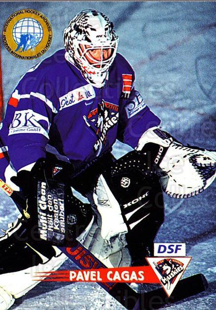 1996-97 German DEL #226 Pavel Cagas<br/>4 In Stock - $2.00 each - <a href=https://centericecollectibles.foxycart.com/cart?name=1996-97%20German%20DEL%20%23226%20Pavel%20Cagas...&quantity_max=4&price=$2.00&code=210617 class=foxycart> Buy it now! </a>