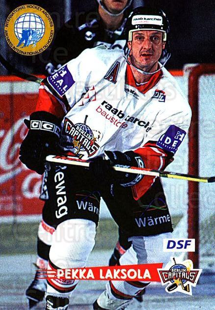 1996-97 German DEL #254 Pekka Laksola<br/>4 In Stock - $2.00 each - <a href=https://centericecollectibles.foxycart.com/cart?name=1996-97%20German%20DEL%20%23254%20Pekka%20Laksola...&quantity_max=4&price=$2.00&code=210619 class=foxycart> Buy it now! </a>