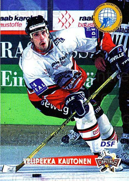 1996-97 German DEL #266 Veli-Pekka Kautonen<br/>3 In Stock - $2.00 each - <a href=https://centericecollectibles.foxycart.com/cart?name=1996-97%20German%20DEL%20%23266%20Veli-Pekka%20Kaut...&quantity_max=3&price=$2.00&code=210621 class=foxycart> Buy it now! </a>