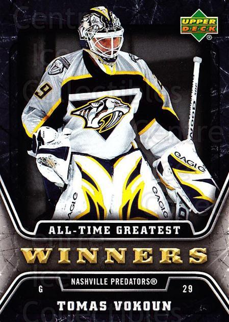 2006-07 Upper Deck All-Time Greatest #12 Tomas Vokoun<br/>1 In Stock - $2.00 each - <a href=https://centericecollectibles.foxycart.com/cart?name=2006-07%20Upper%20Deck%20All-Time%20Greatest%20%2312%20Tomas%20Vokoun...&quantity_max=1&price=$2.00&code=210640 class=foxycart> Buy it now! </a>