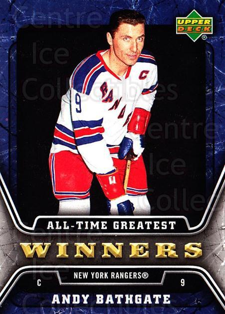 2006-07 Upper Deck All-Time Greatest #14 Andy Bathgate<br/>1 In Stock - $3.00 each - <a href=https://centericecollectibles.foxycart.com/cart?name=2006-07%20Upper%20Deck%20All-Time%20Greatest%20%2314%20Andy%20Bathgate...&quantity_max=1&price=$3.00&code=210642 class=foxycart> Buy it now! </a>