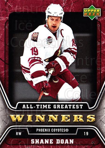 2006-07 Upper Deck All-Time Greatest #17 Shane Doan<br/>2 In Stock - $2.00 each - <a href=https://centericecollectibles.foxycart.com/cart?name=2006-07%20Upper%20Deck%20All-Time%20Greatest%20%2317%20Shane%20Doan...&quantity_max=2&price=$2.00&code=210645 class=foxycart> Buy it now! </a>