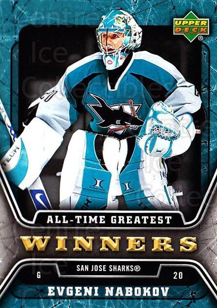 2006-07 Upper Deck All-Time Greatest #19 Evgeni Nabokov<br/>1 In Stock - $2.00 each - <a href=https://centericecollectibles.foxycart.com/cart?name=2006-07%20Upper%20Deck%20All-Time%20Greatest%20%2319%20Evgeni%20Nabokov...&quantity_max=1&price=$2.00&code=210647 class=foxycart> Buy it now! </a>
