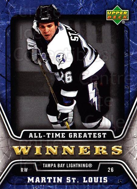 2006-07 Upper Deck All-Time Greatest #20 Martin St. Louis<br/>2 In Stock - $2.00 each - <a href=https://centericecollectibles.foxycart.com/cart?name=2006-07%20Upper%20Deck%20All-Time%20Greatest%20%2320%20Martin%20St.%20Loui...&quantity_max=2&price=$2.00&code=210648 class=foxycart> Buy it now! </a>