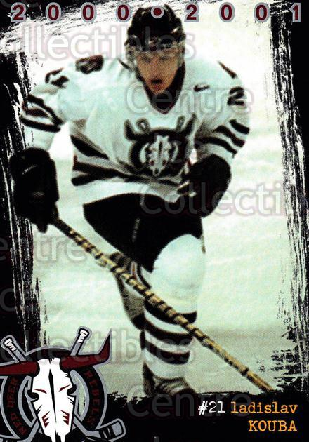 2000-01 Red Deer Rebels #9 Ladislav Kouba<br/>3 In Stock - $2.00 each - <a href=https://centericecollectibles.foxycart.com/cart?name=2000-01%20Red%20Deer%20Rebels%20%239%20Ladislav%20Kouba...&price=$2.00&code=210658 class=foxycart> Buy it now! </a>