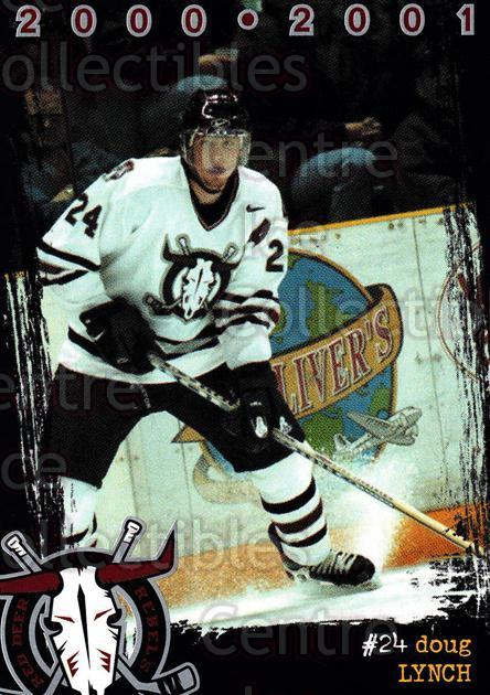 2000-01 Red Deer Rebels #11 Doug Lynch<br/>1 In Stock - $3.00 each - <a href=https://centericecollectibles.foxycart.com/cart?name=2000-01%20Red%20Deer%20Rebels%20%2311%20Doug%20Lynch...&price=$3.00&code=210661 class=foxycart> Buy it now! </a>