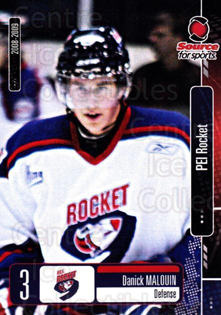 2008-09 Prince Edward Island Rocket #4 Danick Malouin<br/>3 In Stock - $3.00 each - <a href=https://centericecollectibles.foxycart.com/cart?name=2008-09%20Prince%20Edward%20Island%20Rocket%20%234%20Danick%20Malouin...&quantity_max=3&price=$3.00&code=210672 class=foxycart> Buy it now! </a>
