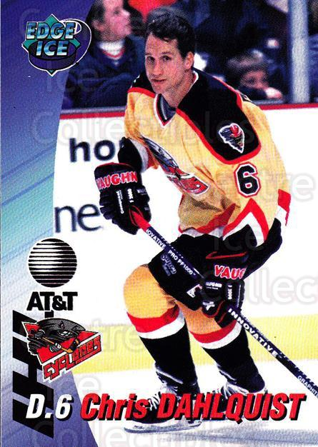 1995-96 Cincinnati Cyclones #4 Chris Dahlquist<br/>1 In Stock - $3.00 each - <a href=https://centericecollectibles.foxycart.com/cart?name=1995-96%20Cincinnati%20Cyclones%20%234%20Chris%20Dahlquist...&quantity_max=1&price=$3.00&code=210712 class=foxycart> Buy it now! </a>