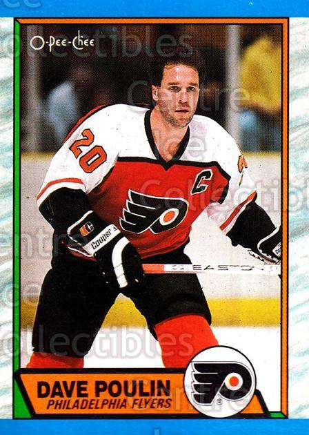 1989-90 O-Pee-Chee #115 Dave Poulin<br/>6 In Stock - $1.00 each - <a href=https://centericecollectibles.foxycart.com/cart?name=1989-90%20O-Pee-Chee%20%23115%20Dave%20Poulin...&quantity_max=6&price=$1.00&code=21071 class=foxycart> Buy it now! </a>
