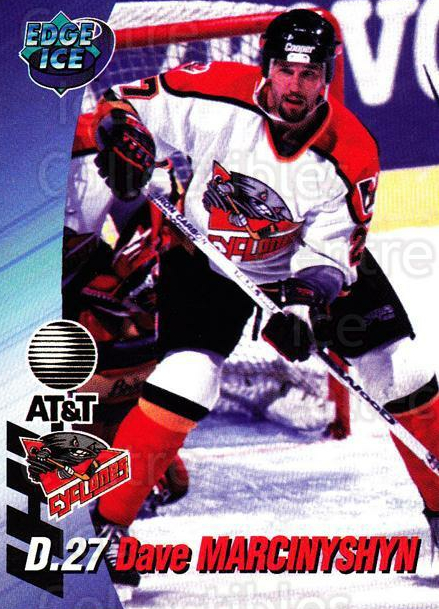 1995-96 Cincinnati Cyclones #16 David Marcinyshyn<br/>1 In Stock - $3.00 each - <a href=https://centericecollectibles.foxycart.com/cart?name=1995-96%20Cincinnati%20Cyclones%20%2316%20David%20Marcinysh...&quantity_max=1&price=$3.00&code=210724 class=foxycart> Buy it now! </a>