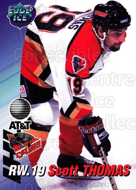 1995-96 Cincinnati Cyclones #17 Scott Thomas<br/>3 In Stock - $3.00 each - <a href=https://centericecollectibles.foxycart.com/cart?name=1995-96%20Cincinnati%20Cyclones%20%2317%20Scott%20Thomas...&quantity_max=3&price=$3.00&code=210725 class=foxycart> Buy it now! </a>
