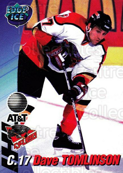 1995-96 Cincinnati Cyclones #18 Dave Tomlinson<br/>3 In Stock - $3.00 each - <a href=https://centericecollectibles.foxycart.com/cart?name=1995-96%20Cincinnati%20Cyclones%20%2318%20Dave%20Tomlinson...&quantity_max=3&price=$3.00&code=210726 class=foxycart> Buy it now! </a>